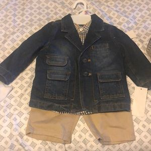 Kenneth Cole Reaction Boys Baby Outfit - 6-9 m 🆕
